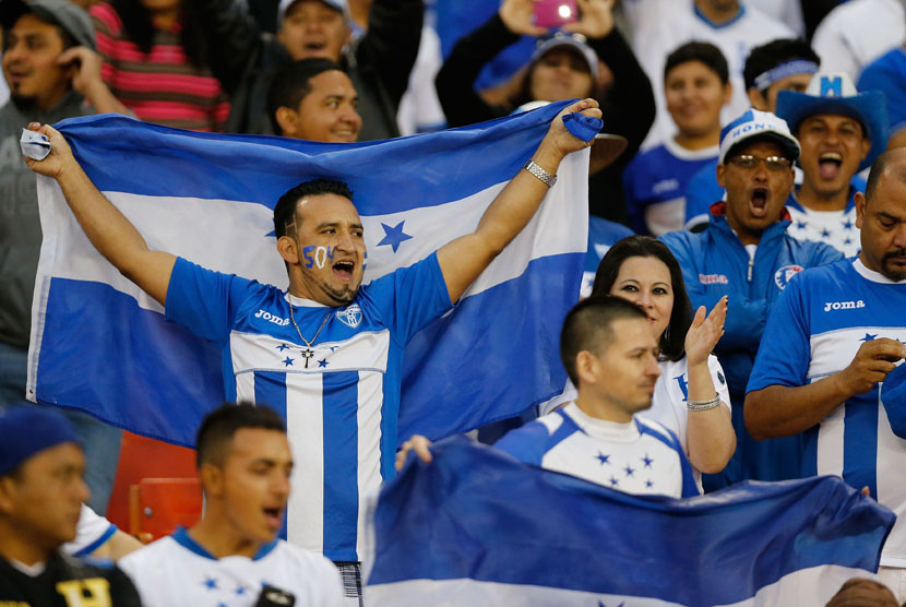 Suporter Timnas Honduras