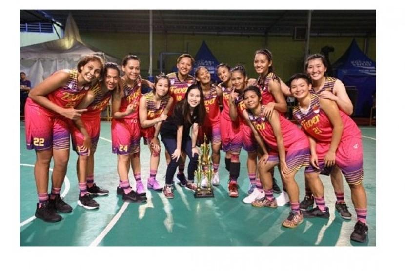 Surabaya Fever Juara Seri I Srikandi Cup