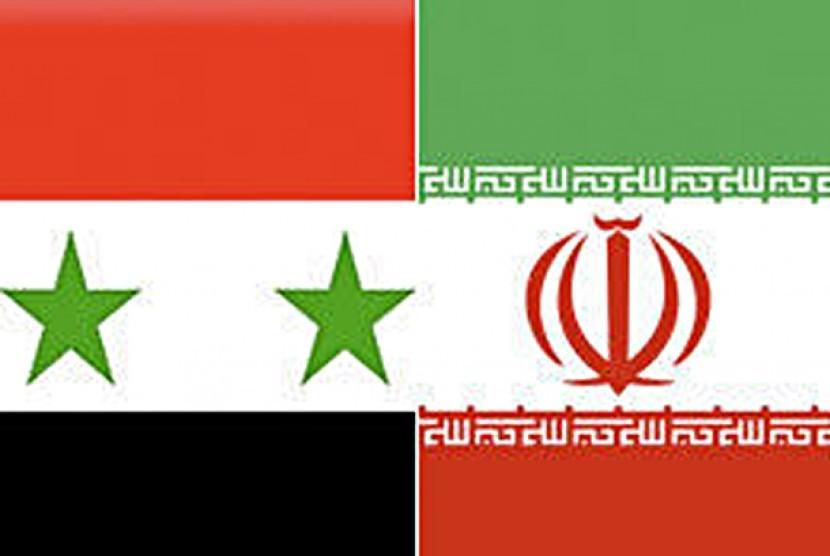 Suriah Iran. Ilutrasi