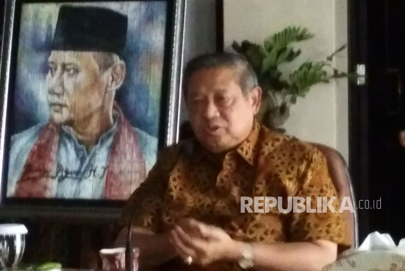 Susilo Bambang Yudhoyono (SBY).