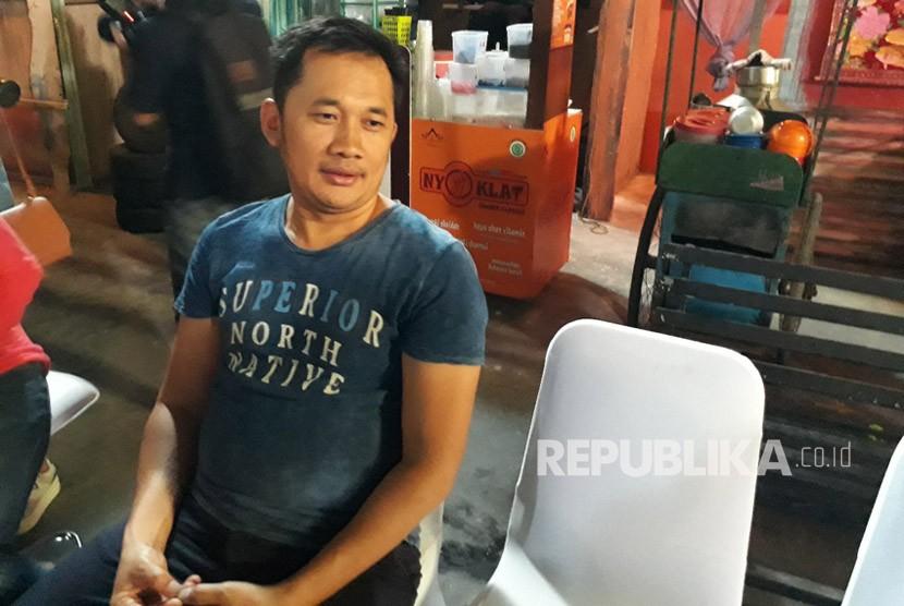 Sutradara film Benyamin: Biang Kerok  Hanung Bramantyo saat ditemui di Karnos Studio, Rabu (24/1).