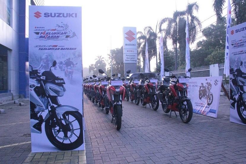 Suzuki GSX-S150 menjelang touring