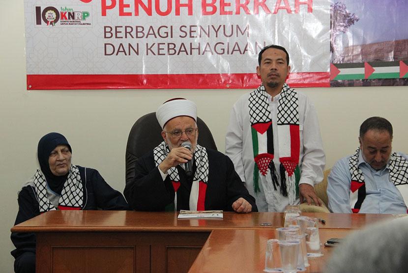 Imam Masjid Al Aqsha Bersyukur Bisa Sambangi Kantor KNRP