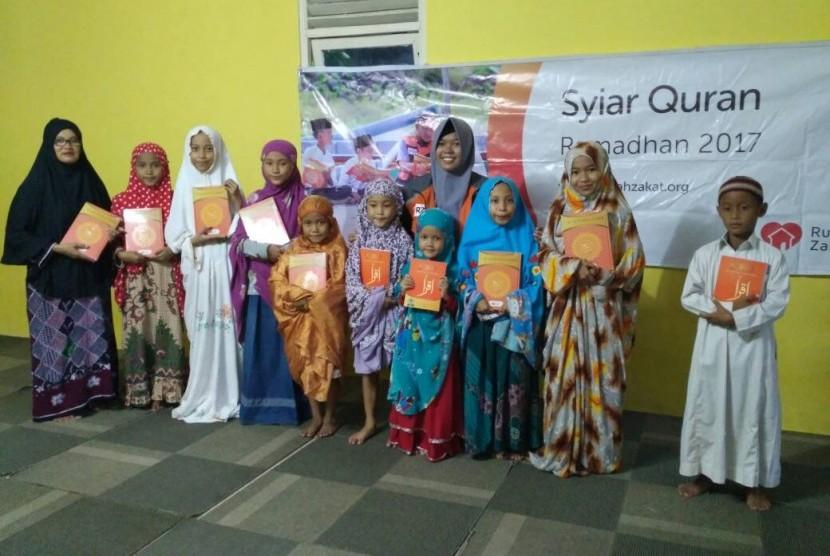 Syiar Quran unuk TPQ Sabilul Irsyad