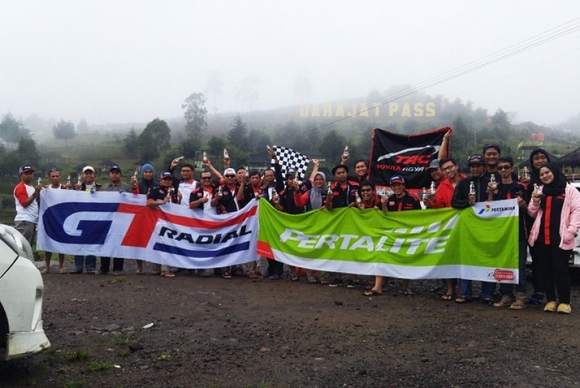 TAC Chapter Bordep gelar touring ke Garut