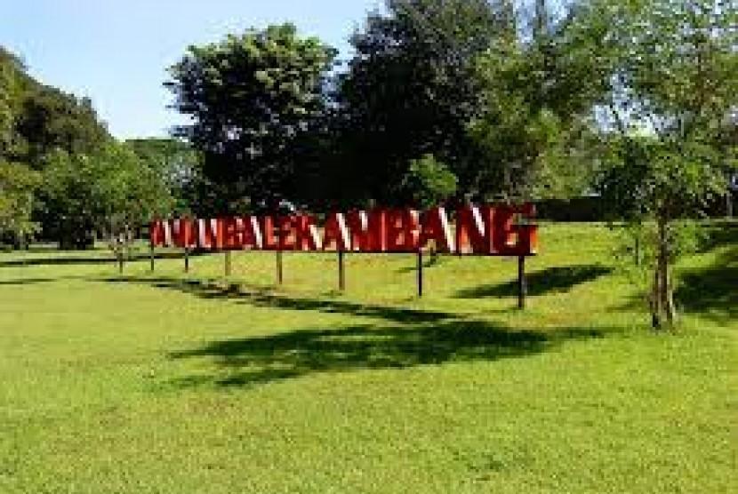 Taman Balekambang, Solo Jawa Tengah.
