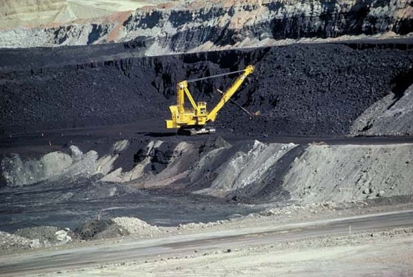 Tambang batu bara (ilustrasi)
