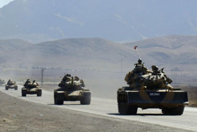 Tank militer/ilustrasi