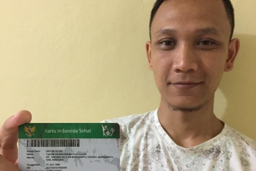 Taufik Iskandardinata Kosasih (32 tahun), peserta BPJS Kesehatan dengan nomor kartu 0001281661097.