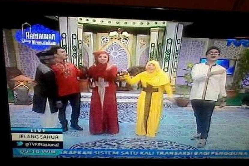 Tayangan sahur Ramadhan TVRI