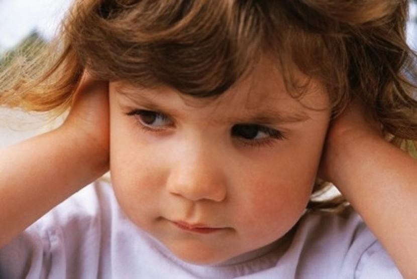 Telinga anak/ilustrasi