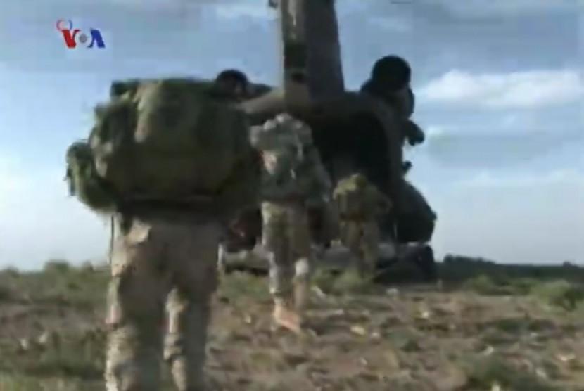 Tentara AS di Afganistan.