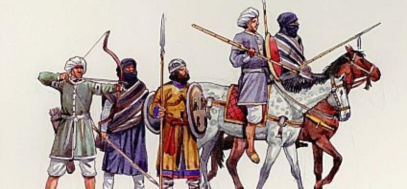 Tentara Dinasti Al-Murabitun (ilustrasi)