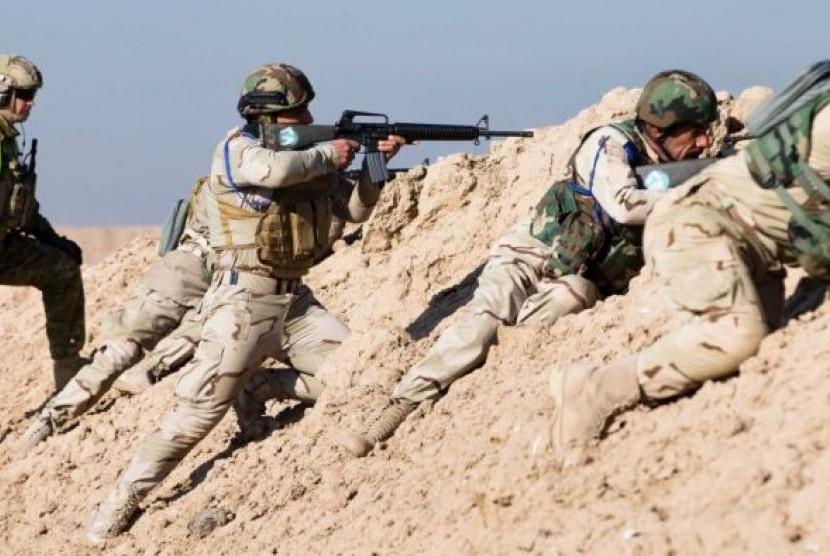 Pasukan Irak-Kurdi Terlibat Bentrok, AS Mengaku Prihatin