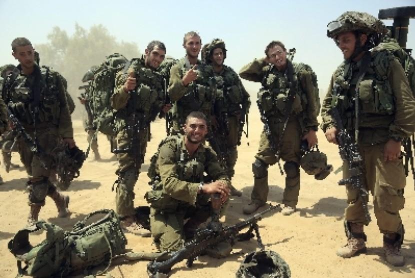 Ilustrasi Tentara Israel dari Bataliaon Israeli.
