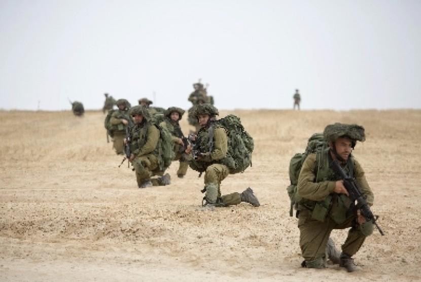 Tentara Israel di Jalur Gaza.