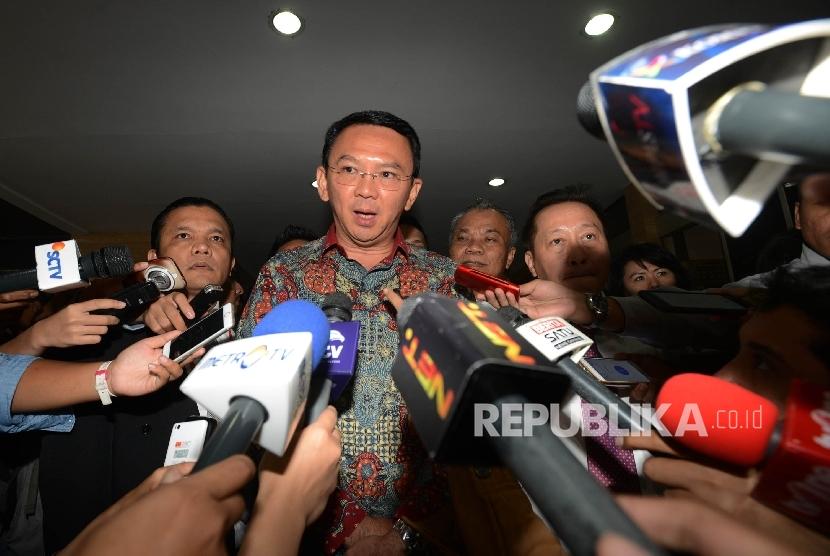 Gubernur DKI Jakarta Basuki Tjahaja Purnama (Ahok).