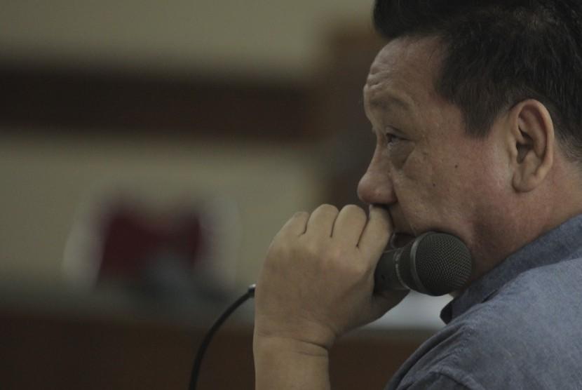 Terdakwa kasus dugaan suap proyek pembangunan jalan di Maluku dan Maluku Utara pada Kementerian Pekerjaan Umum dan Perumahan Rakyat Tahun Anggaran 2016, So Kok Seng alias Aseng menjalani sidang lanjutan di Pengadilan Tipikor, Jakarta, Rabu (12/7).