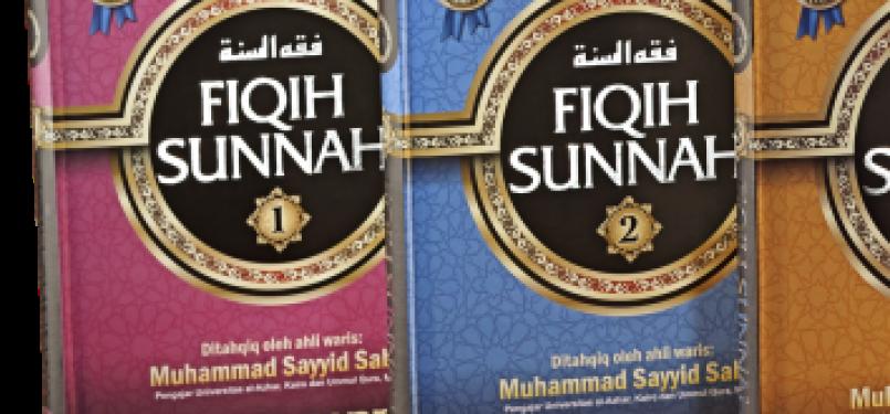 Terjemahan Kitab Fiqh Sunnah karya Sayyid Sabiq.