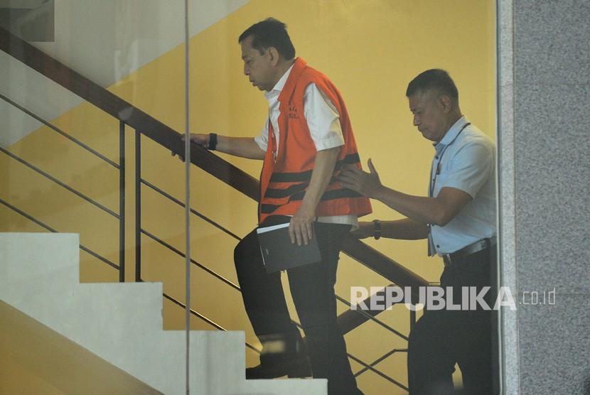 KPK Optimistis Sidang Novanto Hari Ini Bisa Terjadi