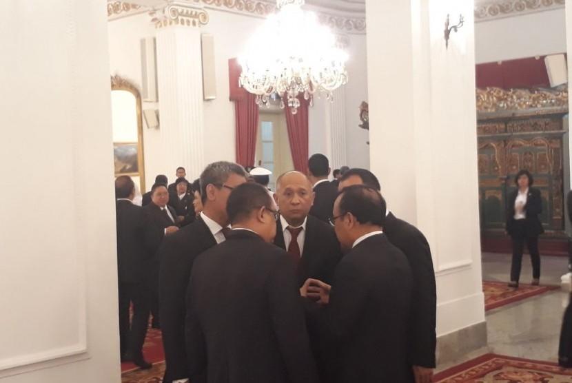 Jokowi: Tugasnya Teten di Dekat Saya Setiap Hari