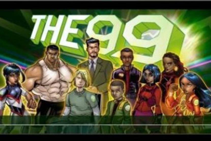 The 99, serial komik tentang superhero Muslim.