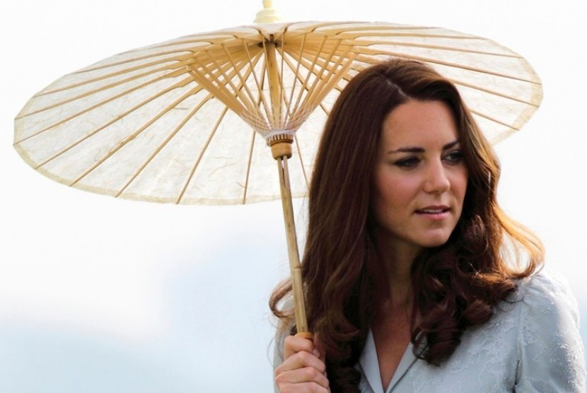 The Duchess of Cambridge, Kate Middleton saat mengunjungi Singapura pekan lalu
