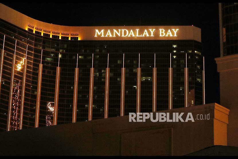 Aksi 'Gila' Paddock Enam Menit Jelang Penembakan Vegas