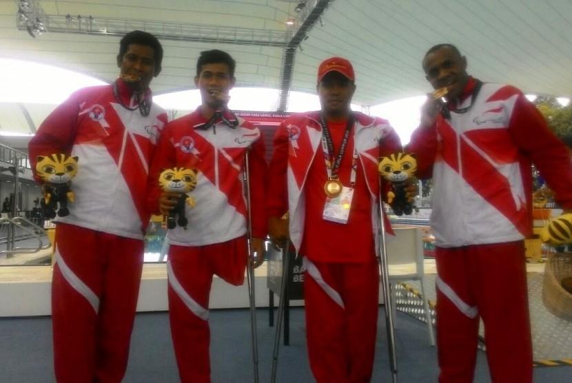 [tabel medali] Indonesia Juara Umum ASEAN Para Games 2017