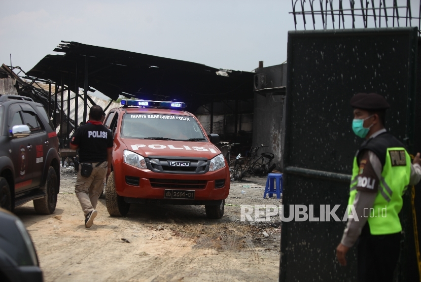 Jadi Tersangka, Pemilik Pabrik Kembang Api Langsung Ditahan