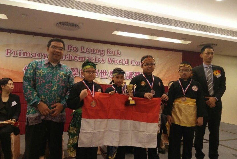 Tim Indonesia dalam ajang PMWC.