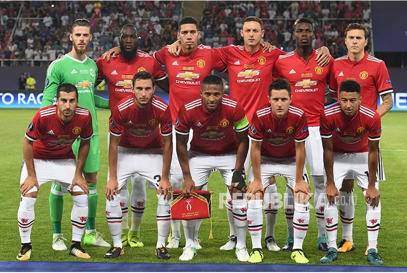 Tim Manchester United UEFA Super Cup