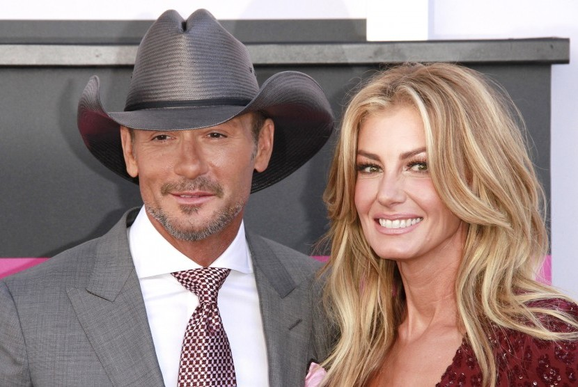 Tim McGraw dan Faith Hill.