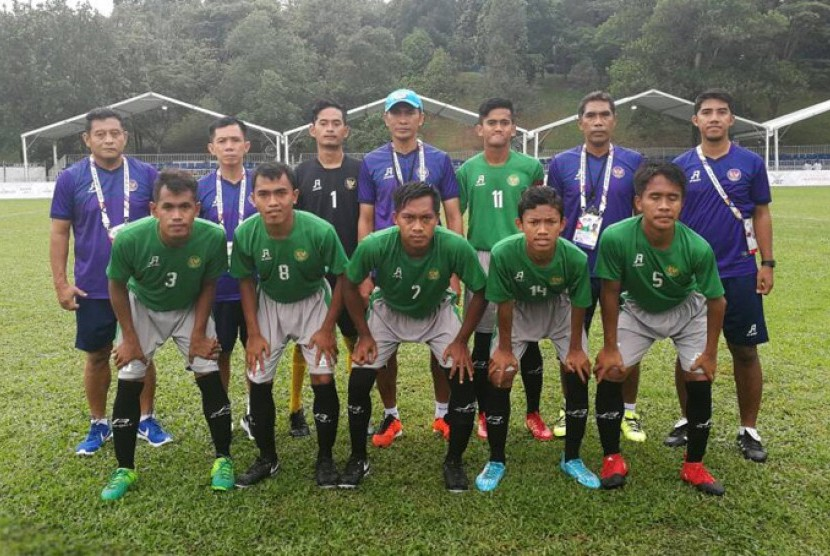 Indonesia hadapi Thailand pada Final Sepak Bola APG 2017