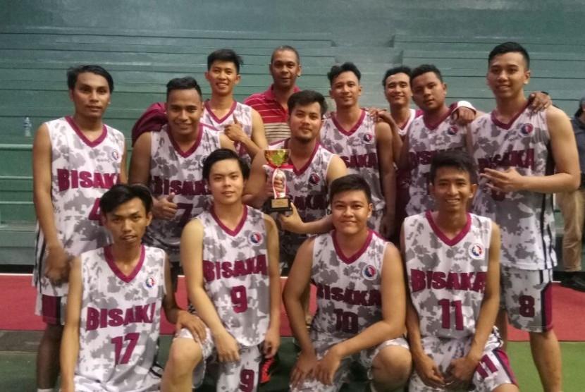 Tim utama UKM Bisaka  (Basket) BSI.