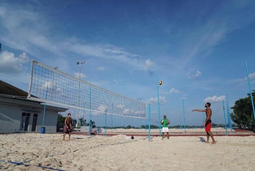 AVC: Arena Voli Pantai di Jakabaring Layak untuk Asian Games