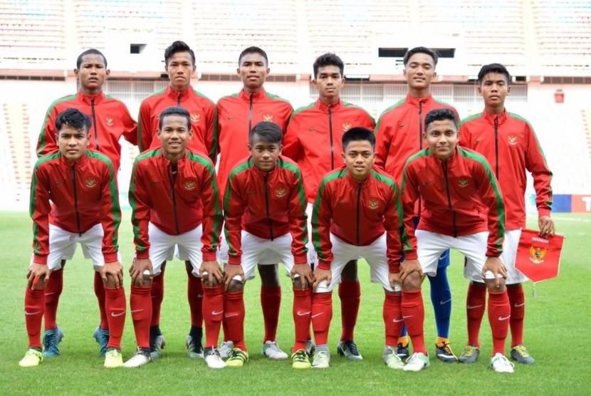 Kalahkan Laos, Indonesia U-16 Lolos ke Piala Asia