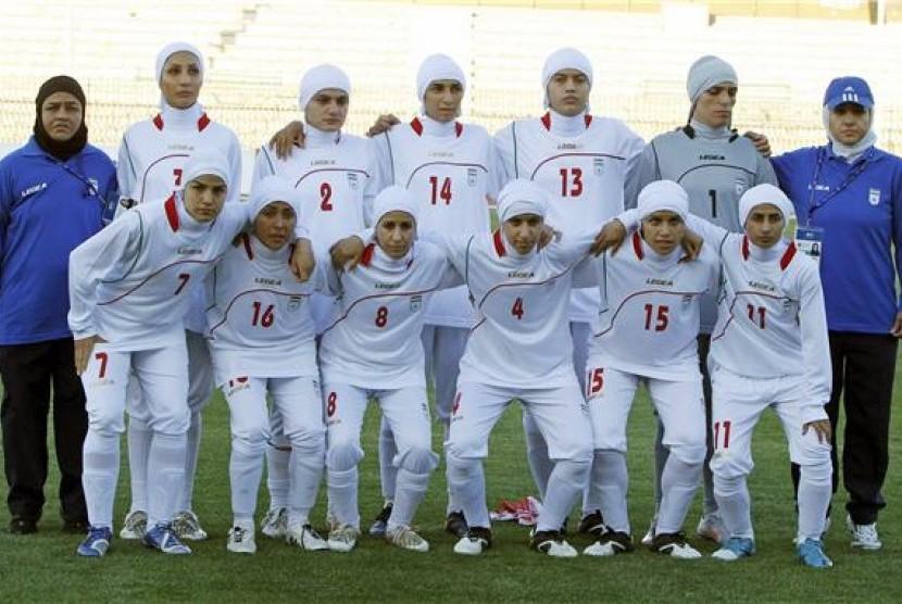 Timnas Sepak Bola Wanita Iran (ilustrasi)