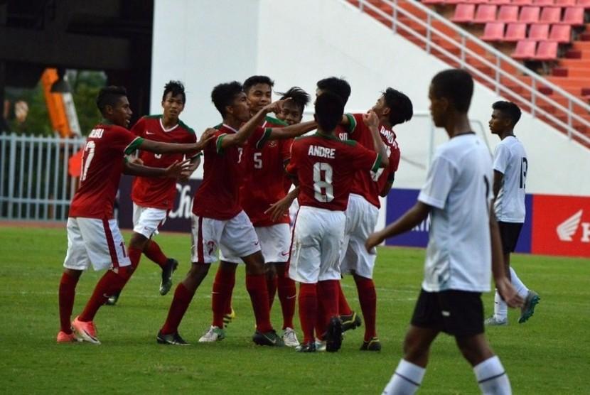 Ini Perubahan Formasi Timnas U-16 Lawan Thailand