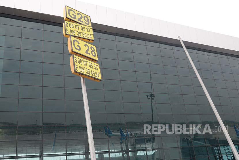 Titik kordinat Terminal 3 Ultimate Bandara Soekarno Hatta, Banten