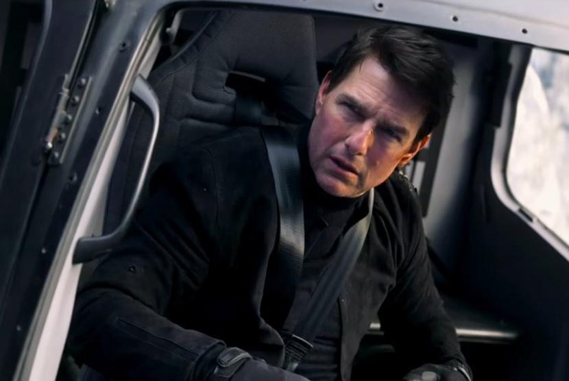 Tom Cruise dalam Mission Impossible Fallout.