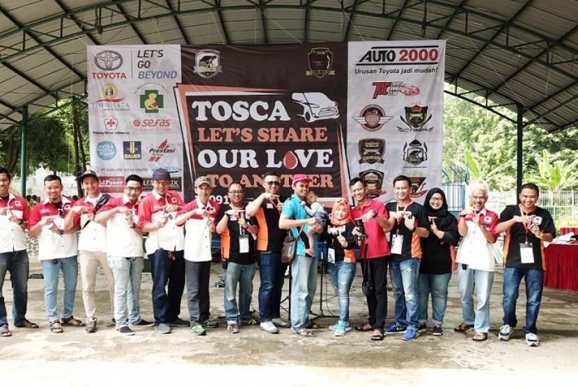 TOSCA Chapter De-Bo's gelar kegiatan sosial