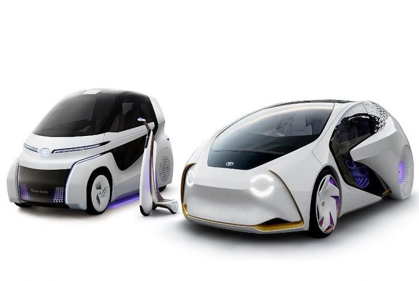 Toyota concept i ride untuk penyandang disabilitas.