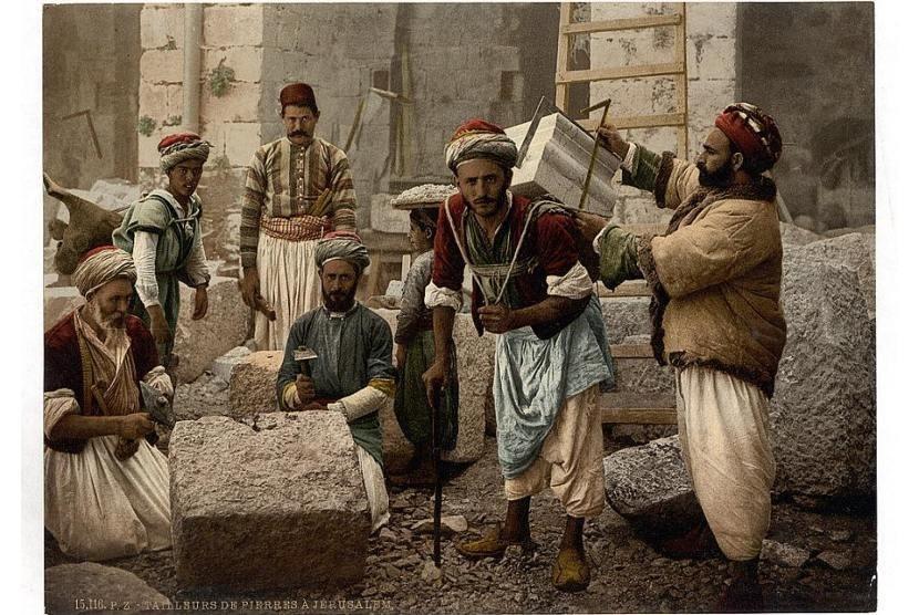Tukang batu di Yerusalem