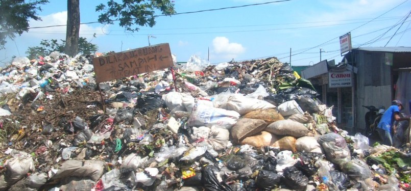 Tumpukan Sampah/Ilustrasi