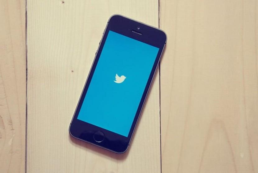 Twitter. Ilustrasi