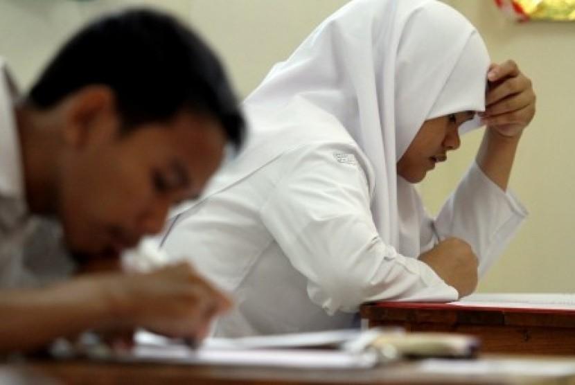 Ujian Nasional (ilustrasi).