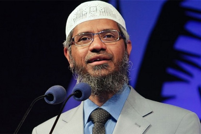 Indian Muslim scholar Zakir Abdul Karim Naik
