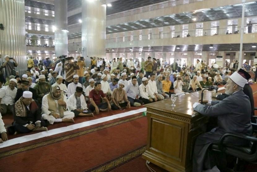 Ulama dari Mesir, Al Arif Billah Syekh Dr Yusri Rusydi Sayyid Jabr Al Hasani Hafidzahullah