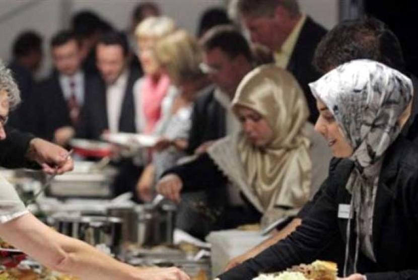 Umat Islam AS berbuka puasa bersama